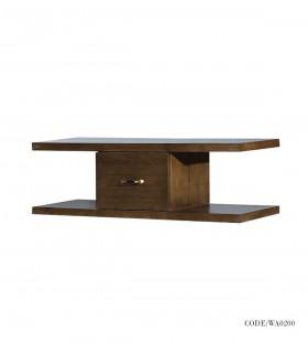 میز زیر تلویزیون چوبی مدل روناک