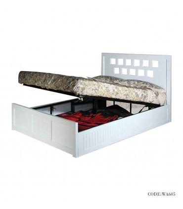 سرویس خواب چوبی مدل آذین
