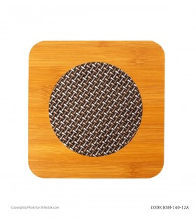 خرید آنلاین زیر قابلمه ای چوبی نسوز مربع