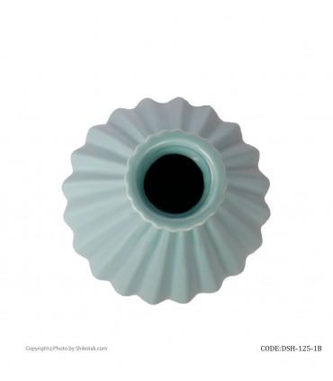مدل گلدان آبی سرامیکی شیک و تک سری 125