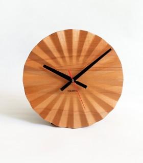 ساعت دیواری چوبی فولدکس مدل دلفی