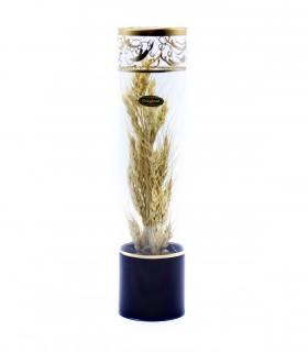 گلدان بلوری گندم طرح استوانه