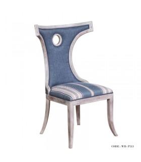 صندلی سوراخ دار سرویس مبل و میزناهار خوری طرح پشتی های خمیده