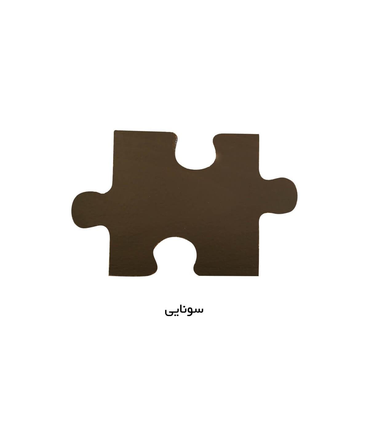 مبل دو نفره کلاسیک سری 514 رنگ سونایی