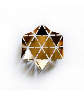 ظرف پذیرایی استیل شش ضلعی طرح  Blaze