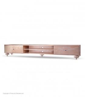 خرید میز تلویزیون چوبی مدرن مدل LARISA