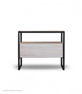 حرید میز کنار تخت پایه فلزی مدل RONICA