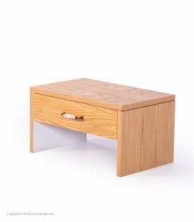خرید میز کنار تخت چوبی مدل PAKAN