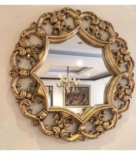 آینه 8 ضلعی بزرگ دیوار کوب