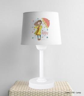 خرید اینترنتی آباژور رومیزی اتاق کودک دخترانه UMBRELLA