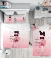 سرویس روتختی و ملحفه اتاق نوجوان مدل PET