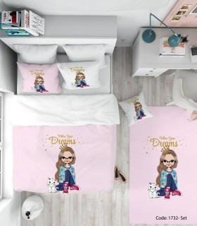 فروش ست روتختی اتاق کودک مدل DREAMS