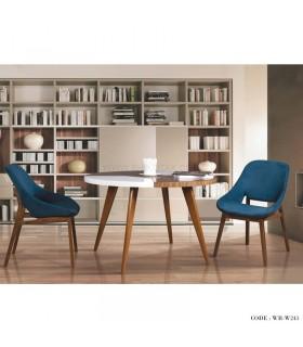 خرید ست میز و صندلی ناهار خوری شش نفره راحتی میز گرد