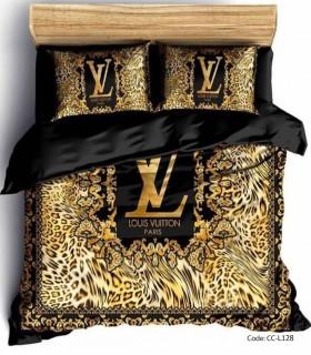 خرید ست روتختی و ملحفه مدل GOLDEN LV