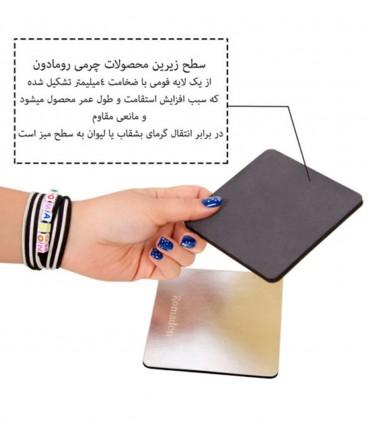 فروش اینترنتی ست حلقه دستمال 6 عددی کد 105
