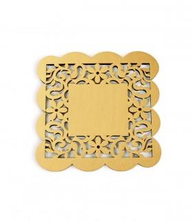 عکس سرویس زیرلیوانی2عددی مربعی کد 144