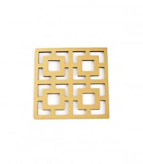 عکس ست 2عددی زیرلیوانی مربعی کد 159