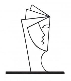 مجسمه مینیمال مدل کتاب کد 7083