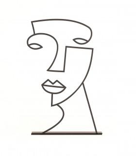 خرید مجسمه مینیمال مدل ملیسا کد 7087