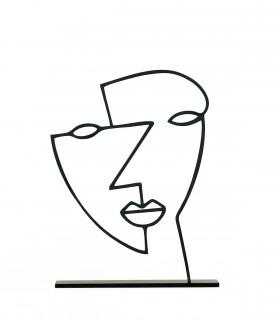 خرید اینترنتی مجسمه فلزی مدل ملیکا کد 7088