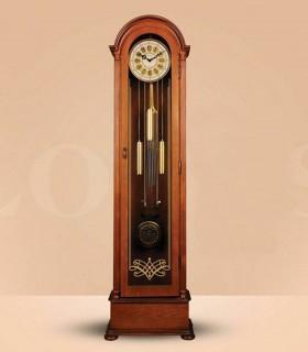 ساعت مبله چوبی مدل DANTE رنگ قهوه ای
