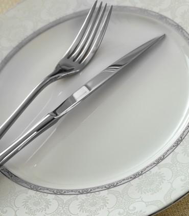 تصویر سرویس چینی 102 پارچ 12 نفره مدل هدیه پلاتینی سری ایتالیا اف