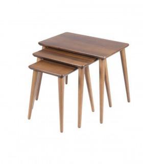 خرید میز عسلی سه عددی مدرن مدل 0071