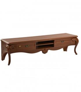 خرید میز تلویزیون چوبی کلاسیک مدل 0080