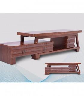 خرید میز تلویزیون چوبی دو طبقه مدل 210