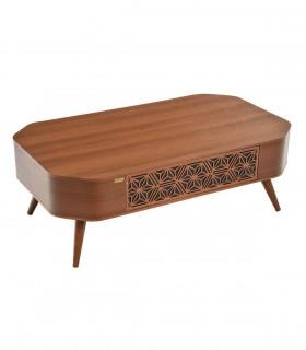 خرید میز جلو مبلی منبت کشودار مدل 265