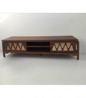 خرید میز تلویزیون چوبی طرح مثلثی مدل 330