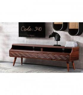خرید میز تلویزیون مدرن طرح مواج مدل 340