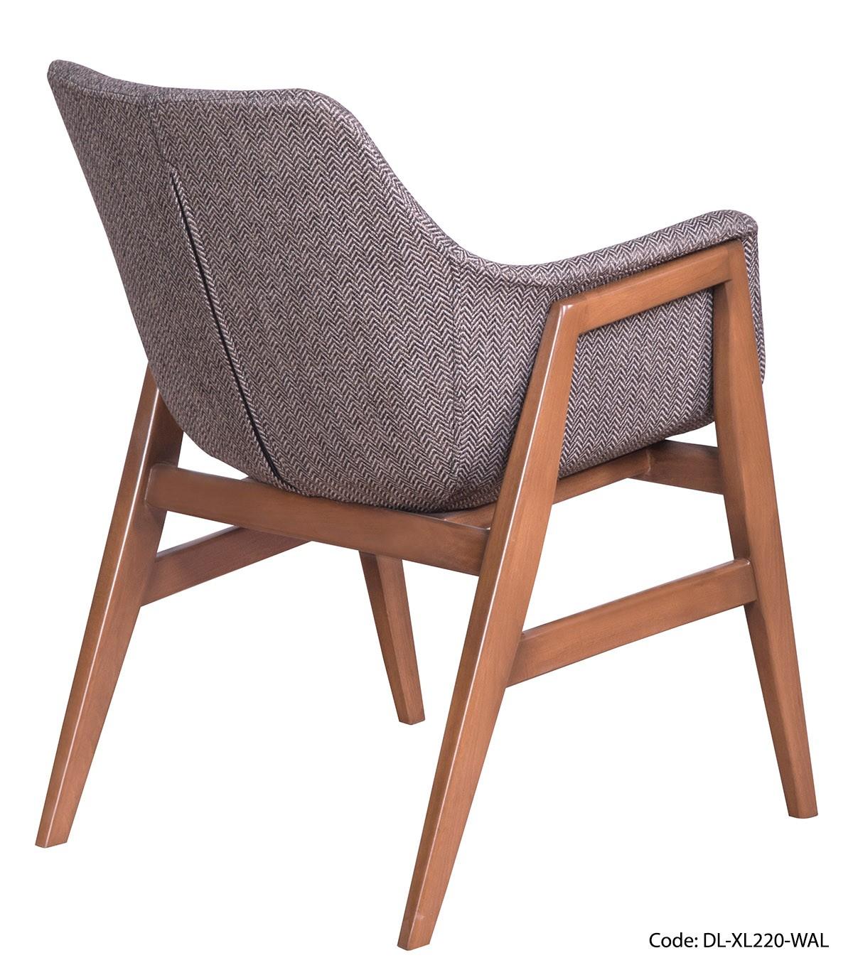 تصویر صندلی ناهار خوری دسته چوبی کد 232