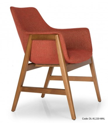 عکس صندلی ناهار خوری دسته چوبی کد 232