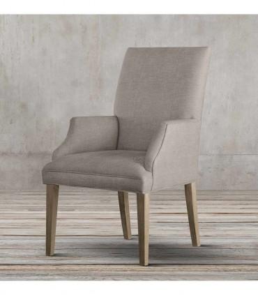 خرید صندلی دسته دار ناهار خوری ساده مدل TOYA