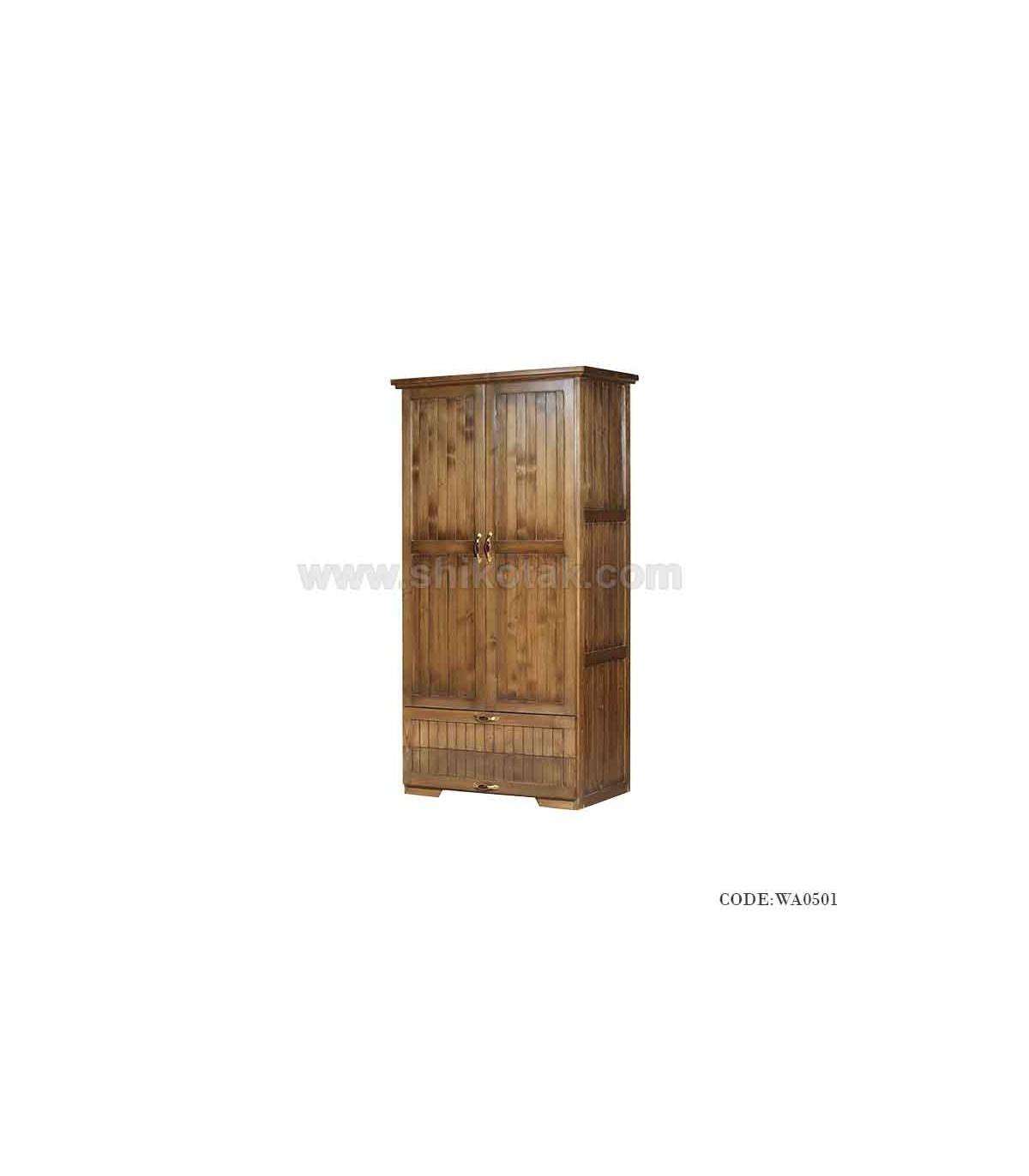 کمد لباس چوبی مدل رکسان
