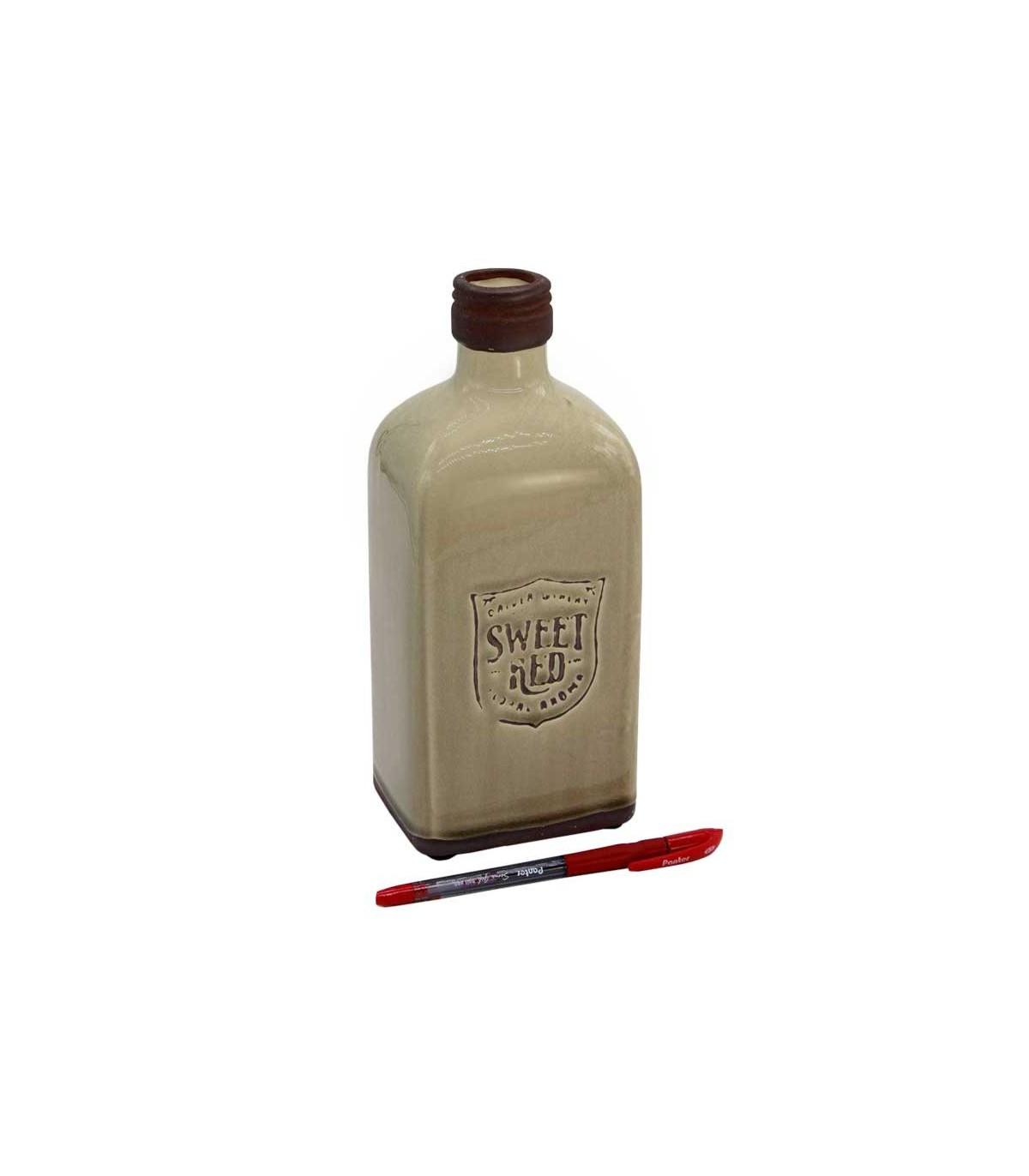گلدان سرامیکی مدل بطری