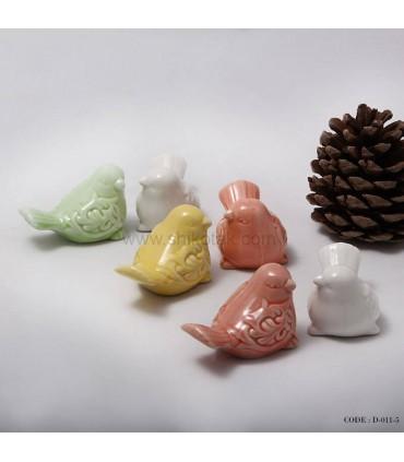 مدل مجسمه دکوری گنجشکی کوچک