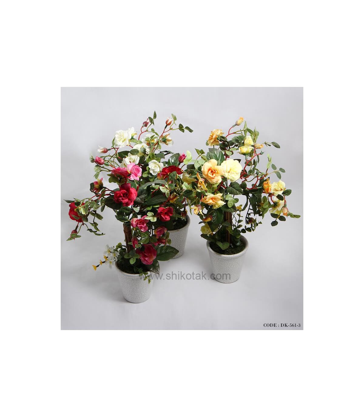 گل رز مصنوعی شیک