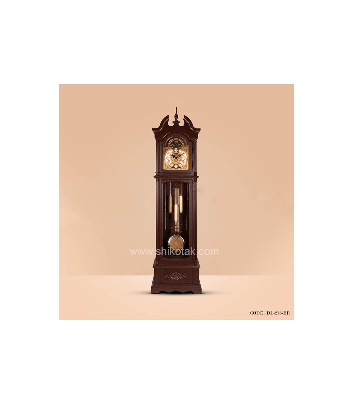ساعت ایستاده چوبی سری 216 کرون سونایی