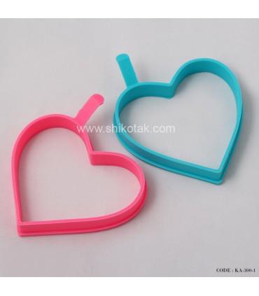 مدل قالب کوکو سیلیکونی طرح قلب