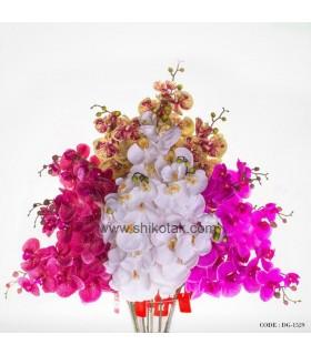 گل مصنوعی ارکیده ساقه بلند