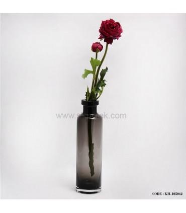 گلدان بلوری طرح بطری