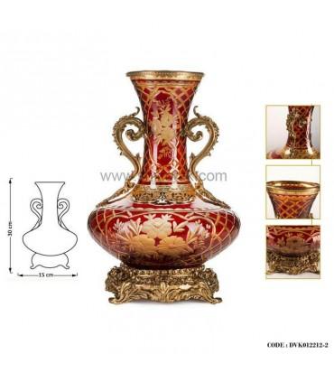 گلدان سلطنتی پایه برنز سری122