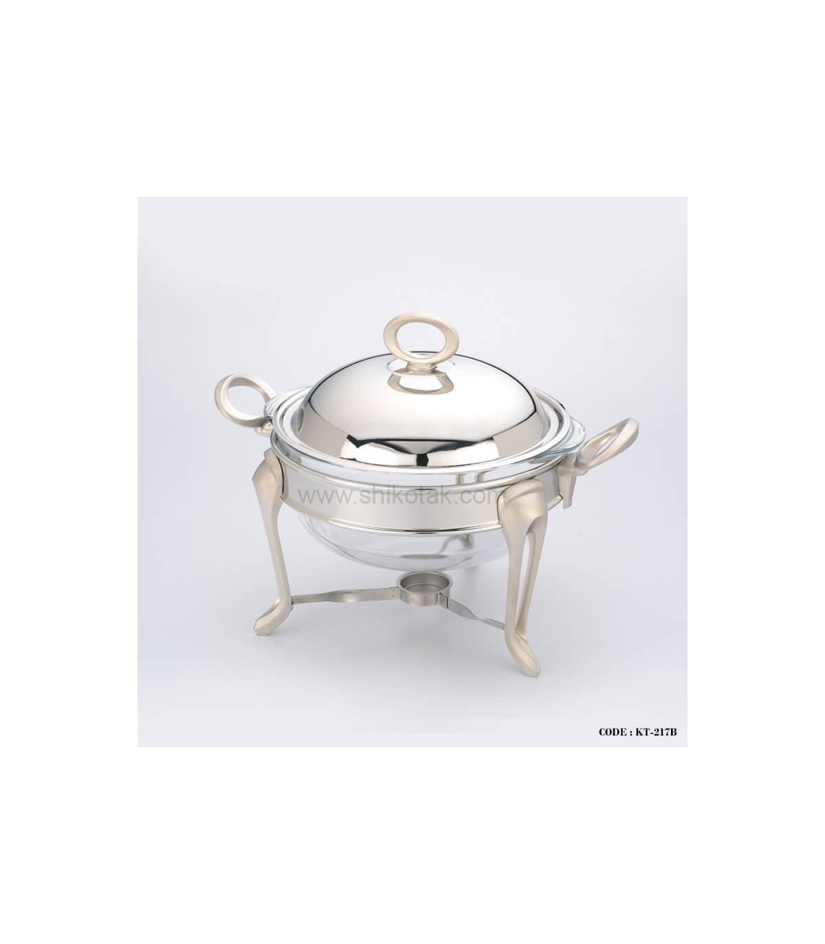 سوپ خوری استیل مدل حلقه ای سایز متوسط