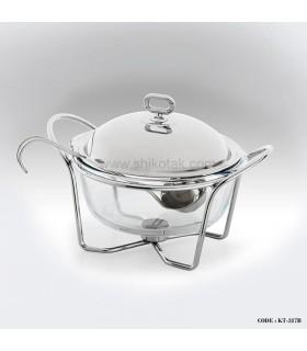 ظرف سوپ خوری پایه دار 2 لیتری