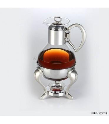 قهوه جوش دو لیتری پایه دار طرح حلقه ای