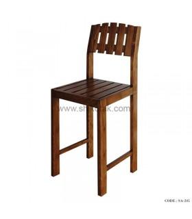 صندلی کم جا چوبی سری 205