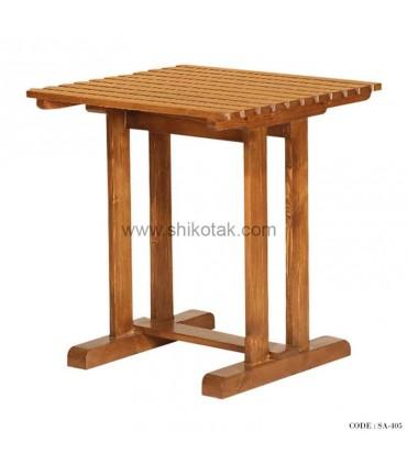 میز صبحانه خوری چوبی سری 405