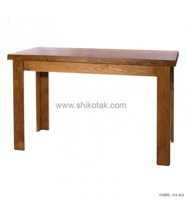 میز ناهار خوری کشو دار چوبی بلند سری 414D